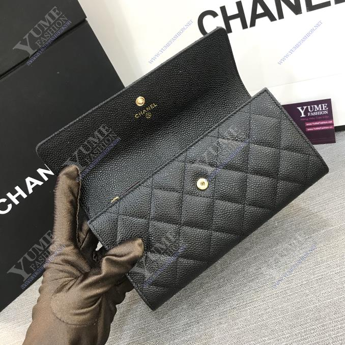 BÓP NỮ CHANEL Wallet Caviar Leather BNU1967 | 2.700.000 ₫