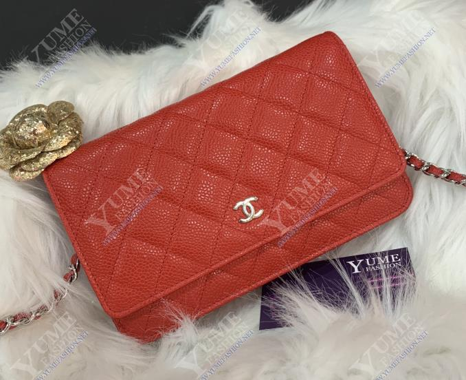 TÚI XÁCH CHANEL Chanel WOC caviar leather TXH2245R | 4.200.000 ₫