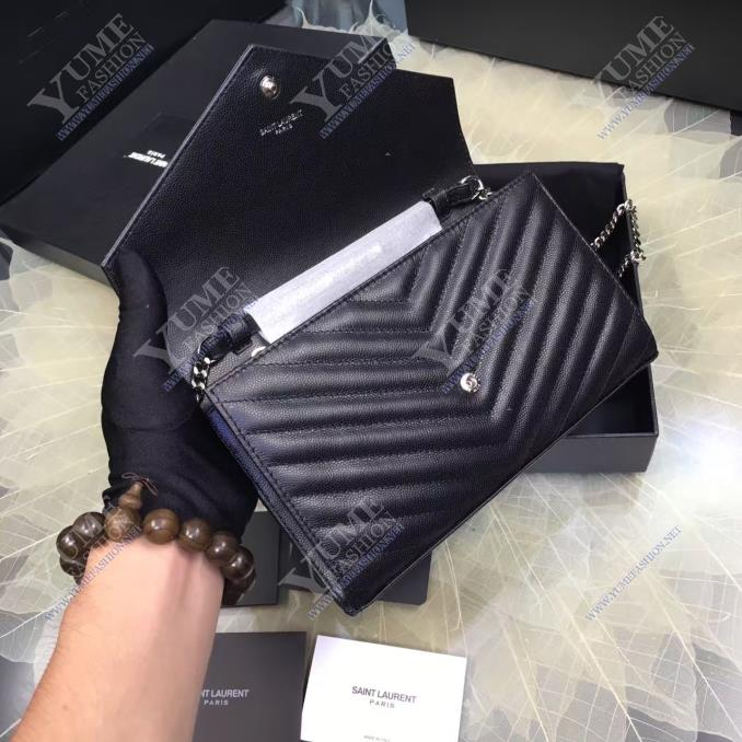 TÚI XÁCH YSLYSL V Line Caviar LeatherTXH2415D|4.800.000 ₫