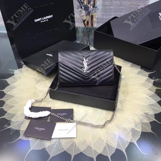 TÚI XÁCH YSLYSL V Line Caviar LeatherTXH2415D|4.600.000 ₫