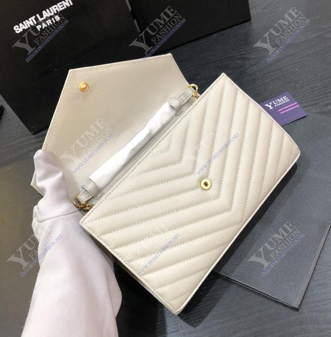 TÚI XÁCH YSLYSL V Line Caviar LeatherTXH2415G 4.600.000 ₫